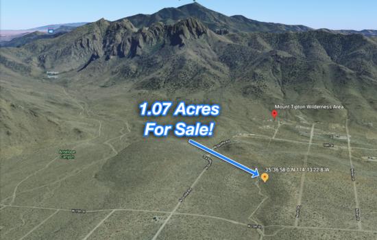 1.07-acre Off Road Adventure in Dolan Spring, Arizona!