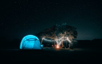 Camping near the Grand Canyon