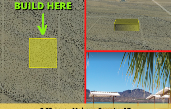 Amazing 2.35-acre Mountainside Oasis For Sale in Golden Valley, AZ! Your Off-grid Paradise Soon To Rise Here – Financing Guaranteed!