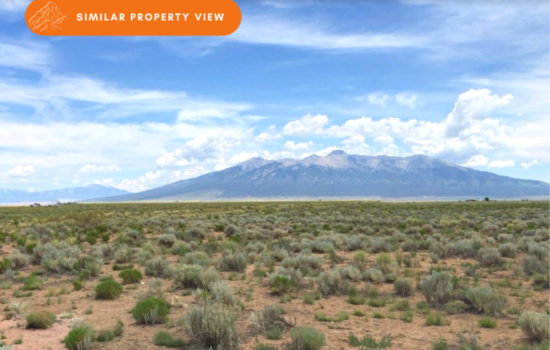 4.94-acre with Panoramic Mt Blanca Views – Build Your Cabin Here