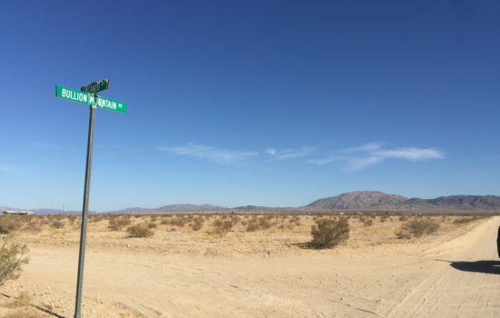 Over 2 acres in near Joshua Tree in 29 Palms